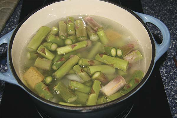 Soupe asperges poireaux - prep6